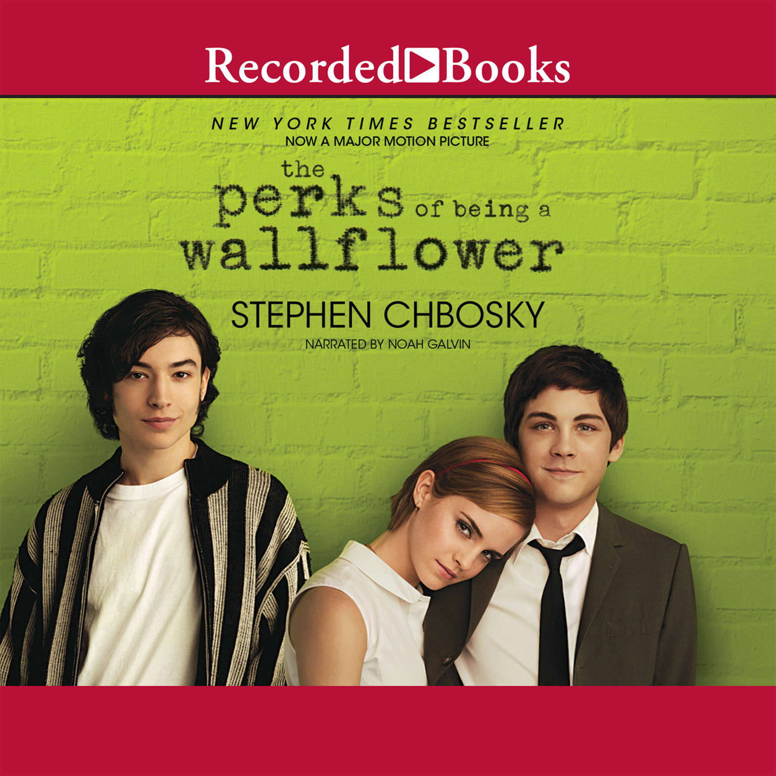 Printable The Perks of Being a Wallflower Audiobook Cover Art