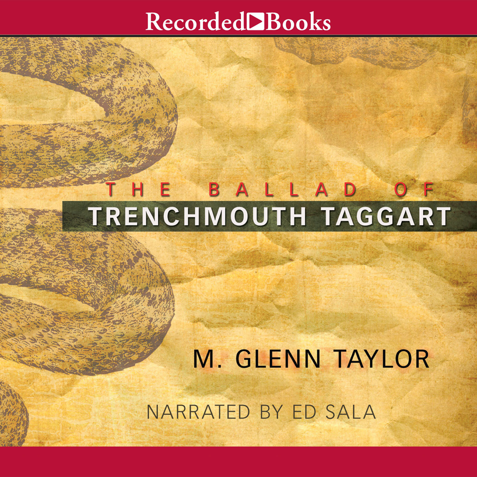 Printable The Ballad of Trenchmouth Taggart Audiobook Cover Art