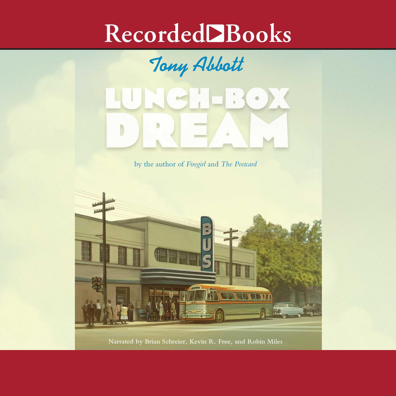 Printable Lunch-Box Dream Audiobook Cover Art