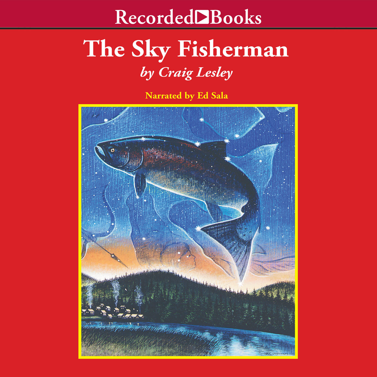 Printable The Sky Fisherman Audiobook Cover Art