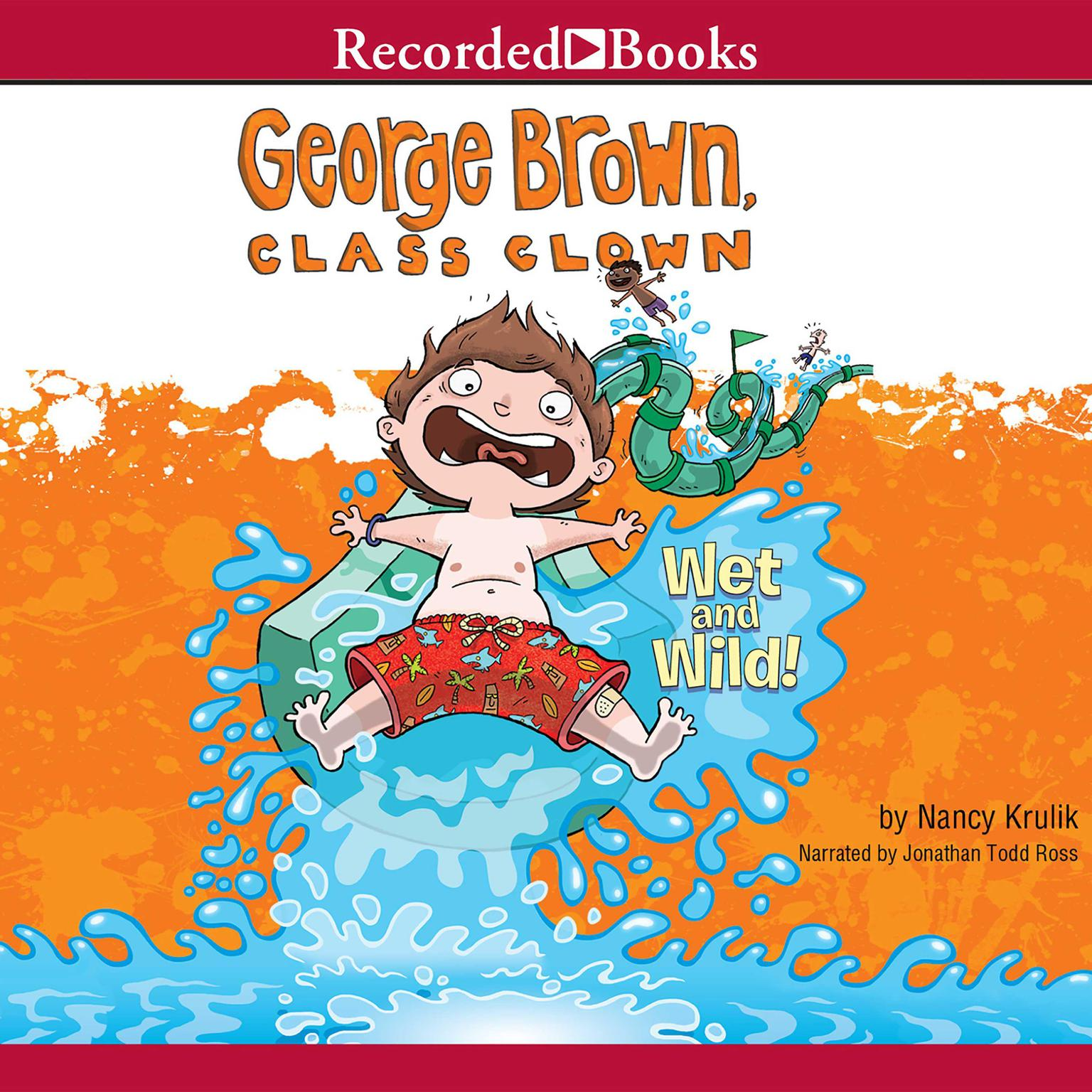 Printable Wet and Wild! Audiobook Cover Art