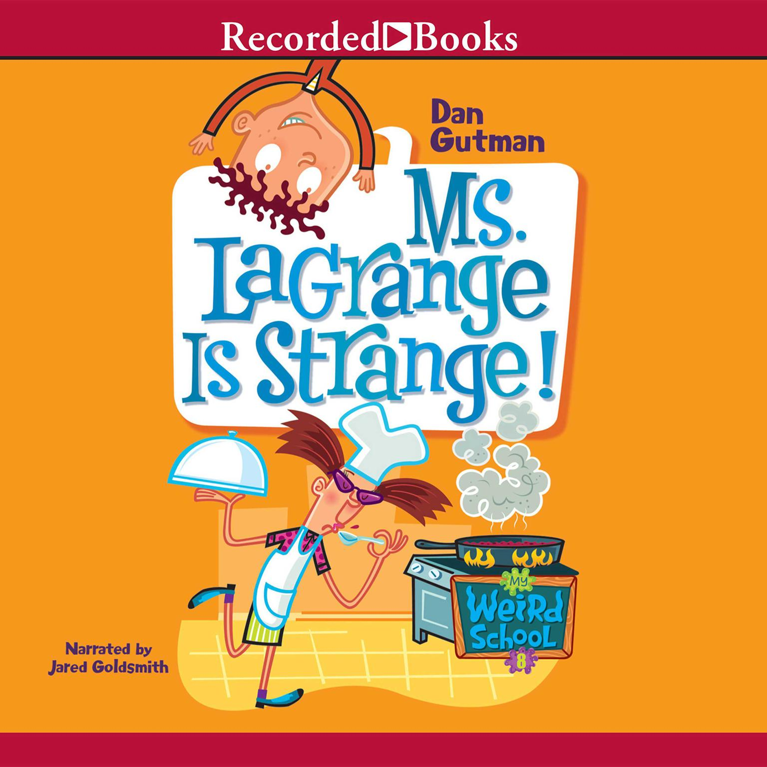 Printable Ms. LaGrange Is Strange! Audiobook Cover Art
