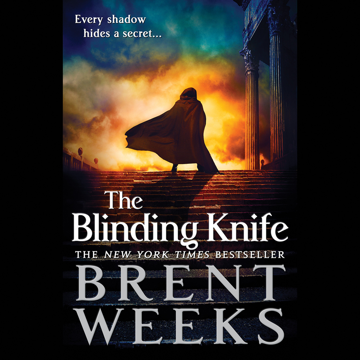 Printable The Blinding Knife Audiobook Cover Art
