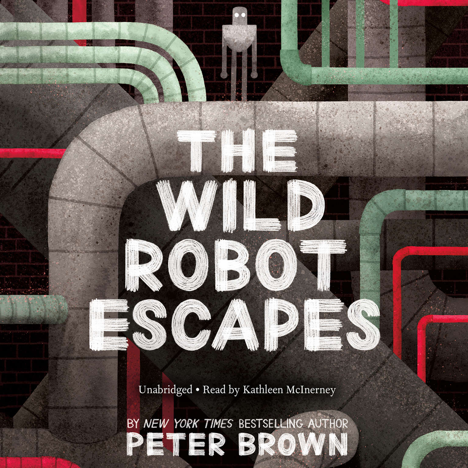 Printable The Wild Robot Escapes Audiobook Cover Art