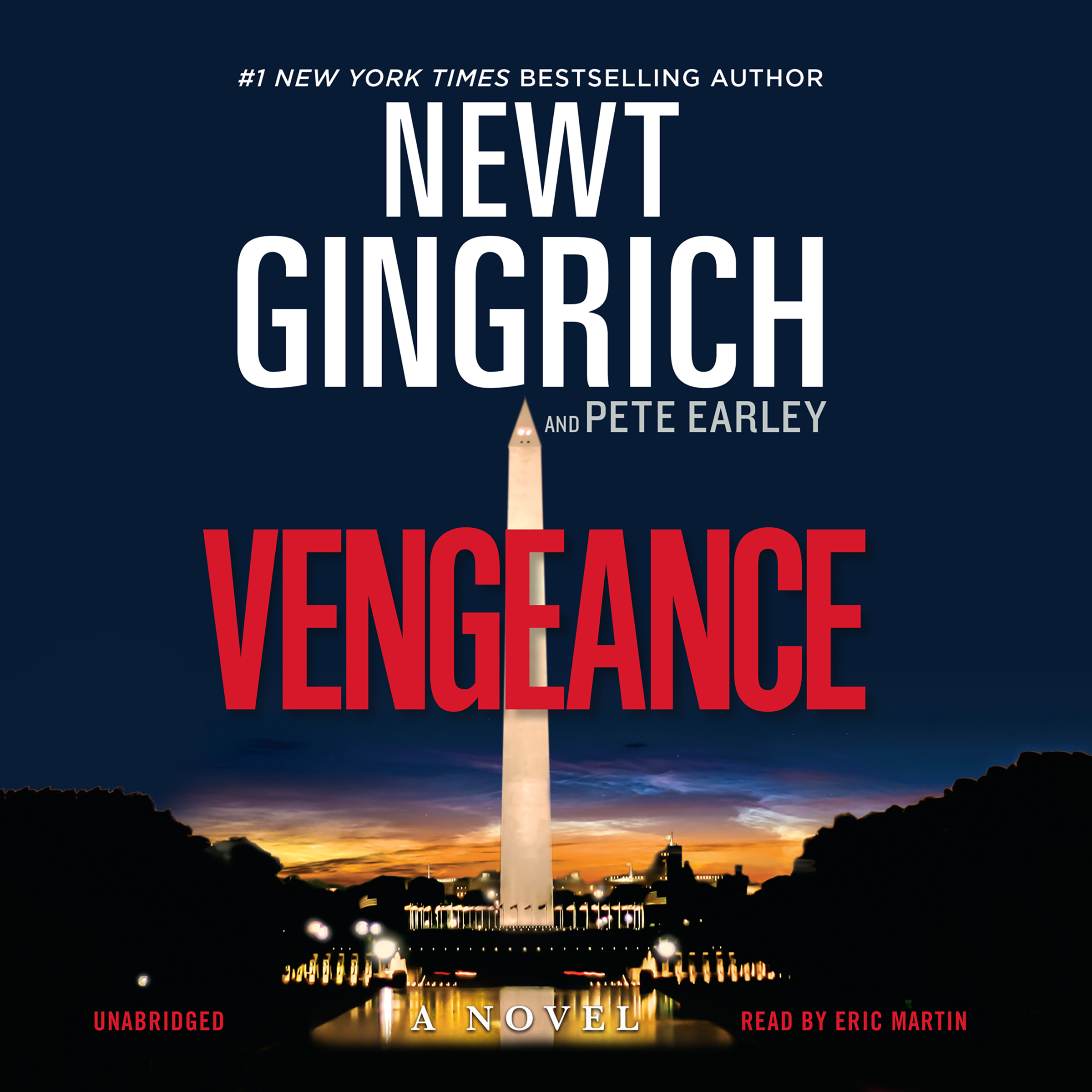 Printable Vengeance: A Novel Audiobook Cover Art