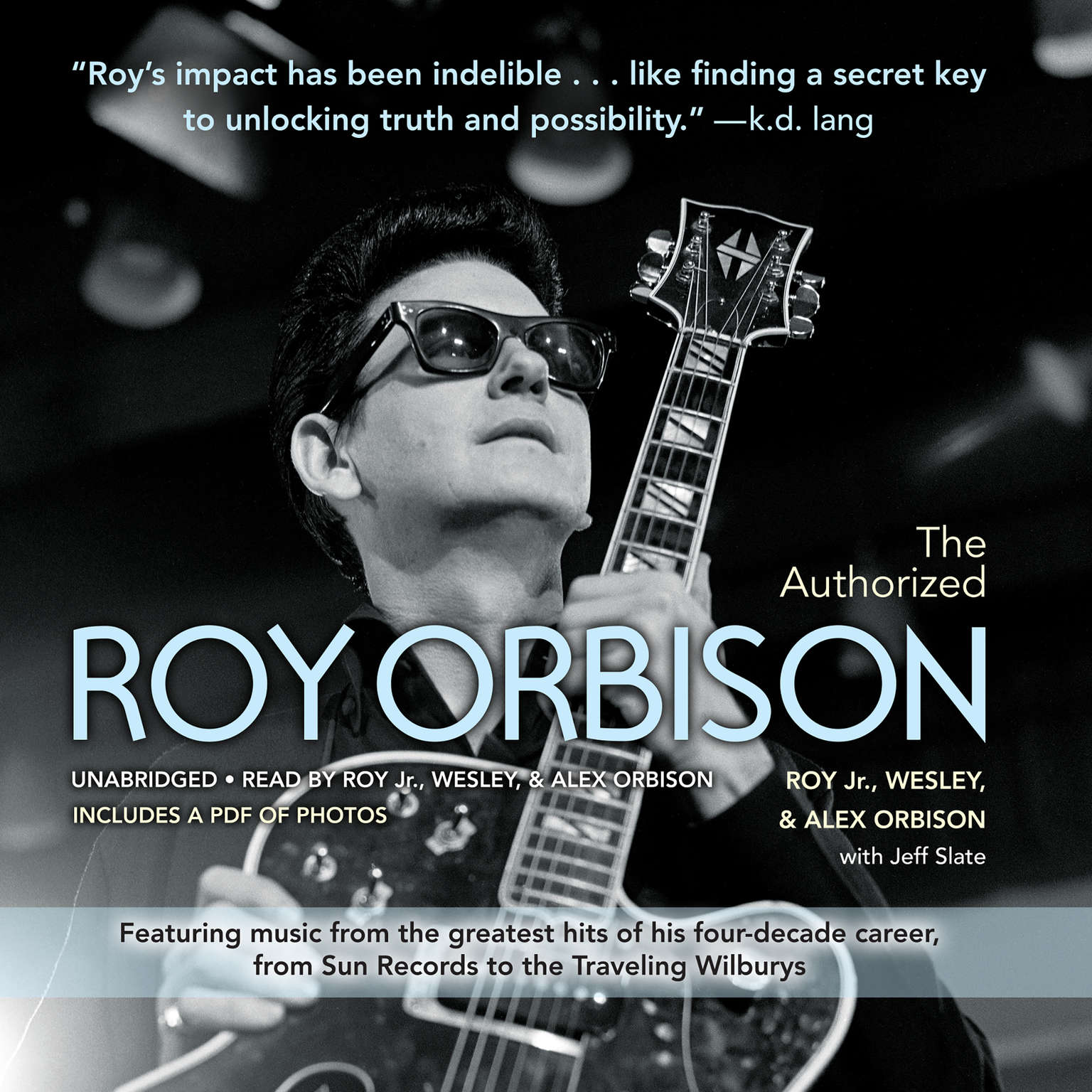 Printable The Authorized Roy Orbison Audiobook Cover Art