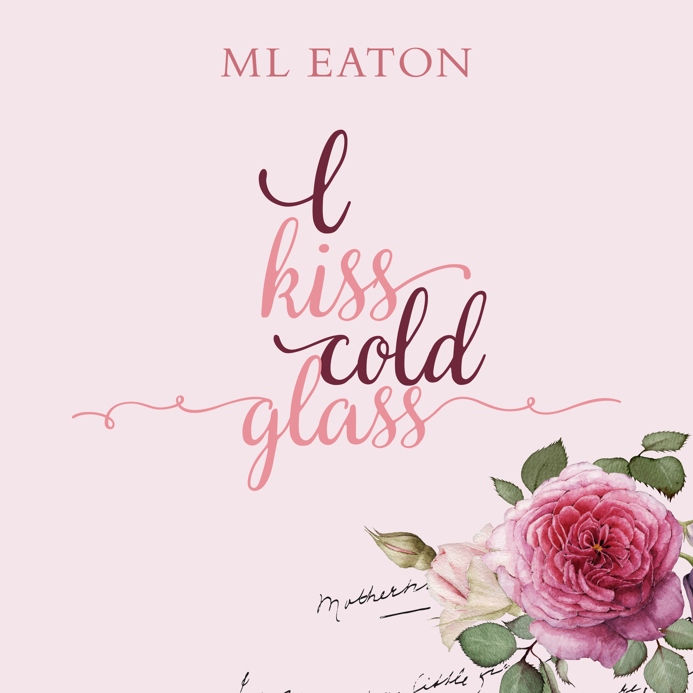 Printable I Kiss Cold Glass Audiobook Cover Art