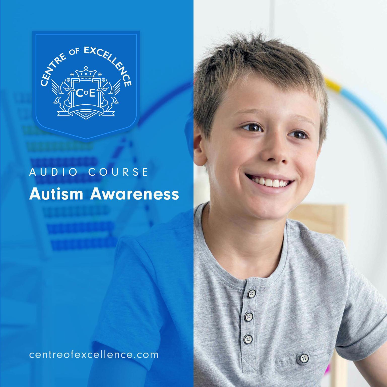 Printable Autism Awareness Audiobook Cover Art