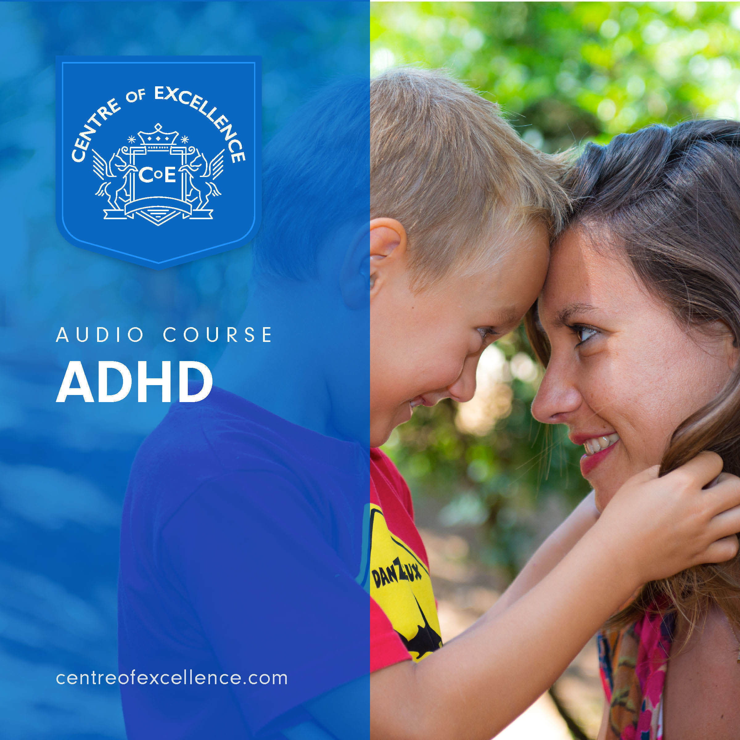 Printable ADHD Awareness Audiobook Cover Art