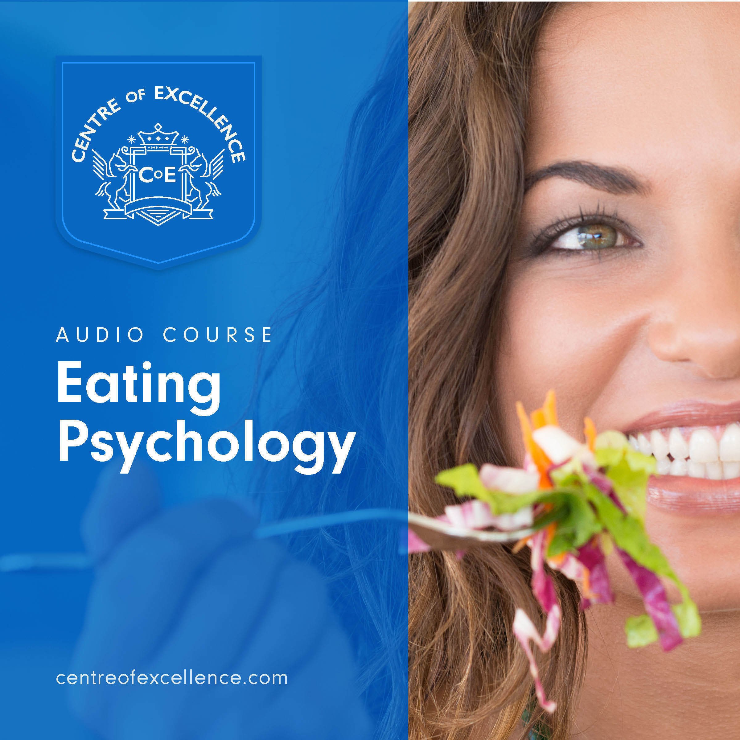 Printable Eating Psychology Audiobook Cover Art