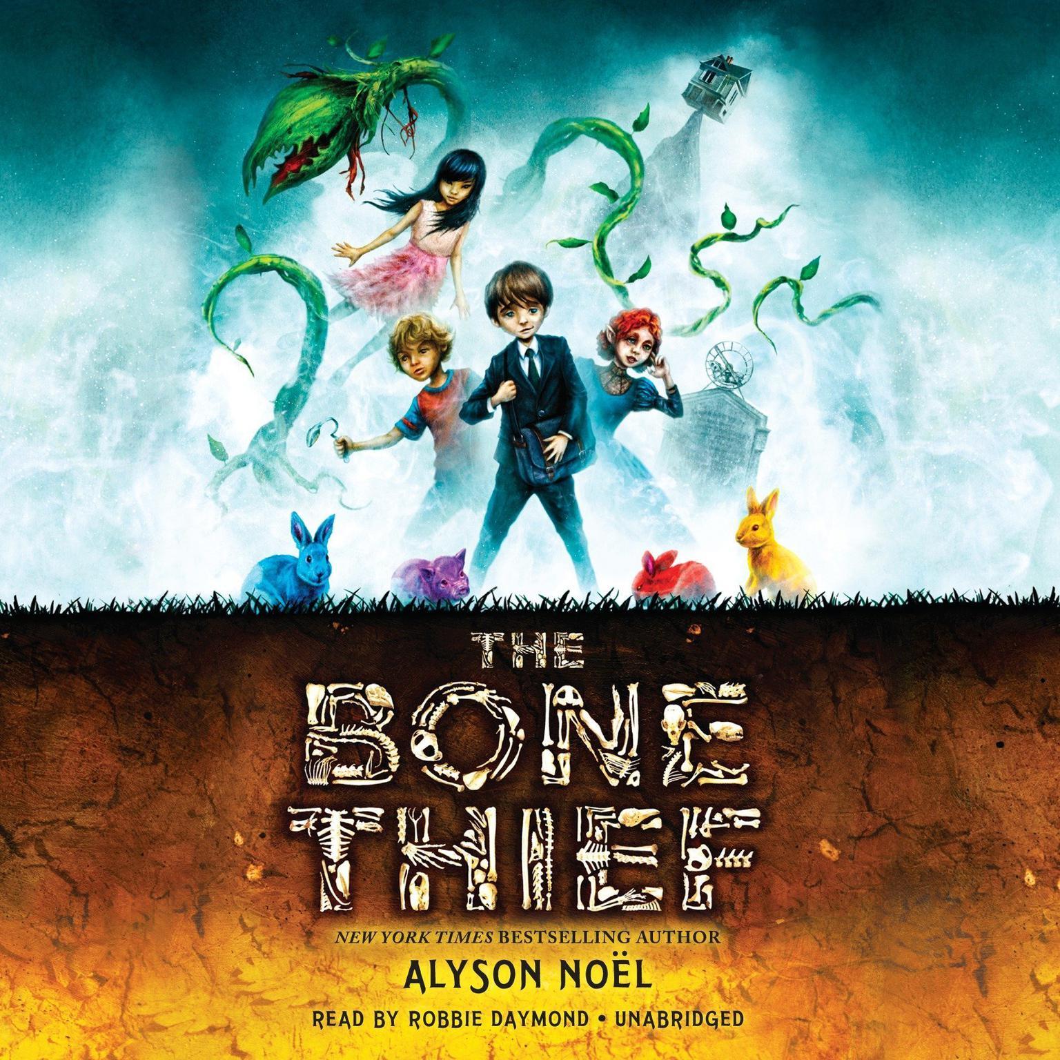 Printable The Bone Thief Audiobook Cover Art