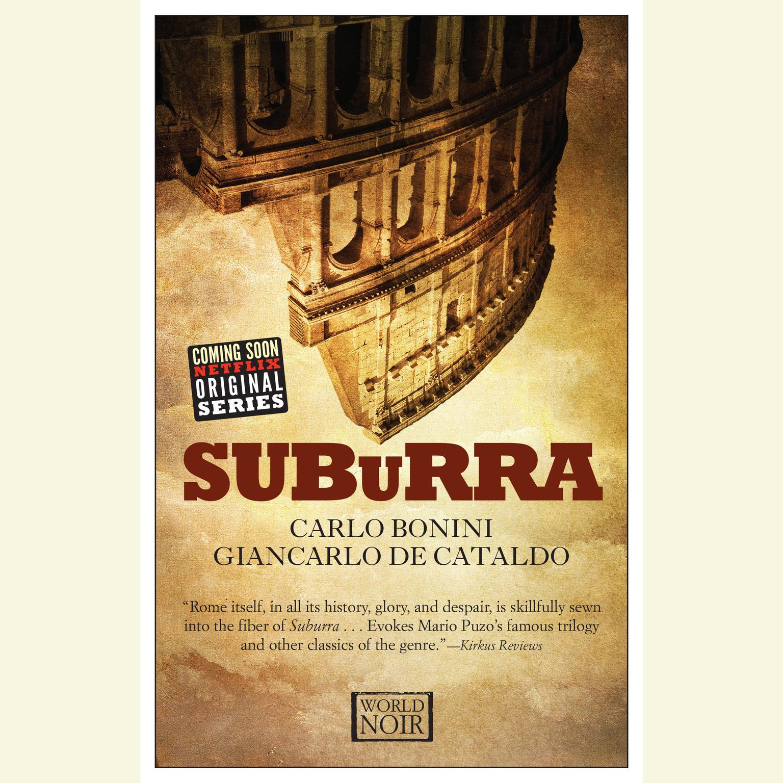 Printable Suburra Audiobook Cover Art