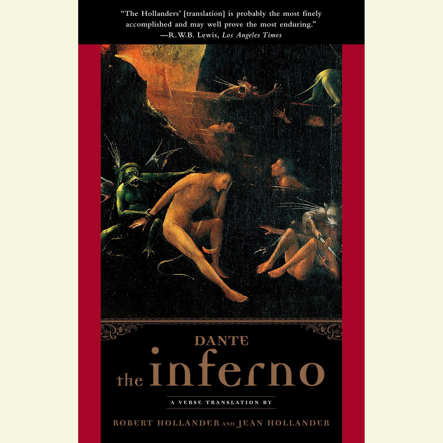 Printable The Inferno Audiobook Cover Art