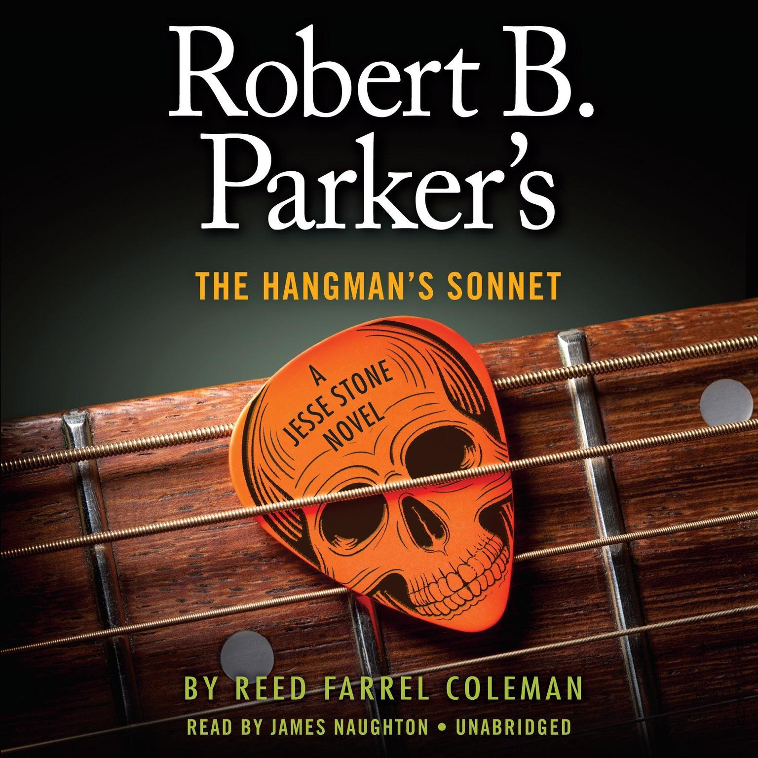 Printable Robert B. Parker's The Hangman's Sonnet Audiobook Cover Art