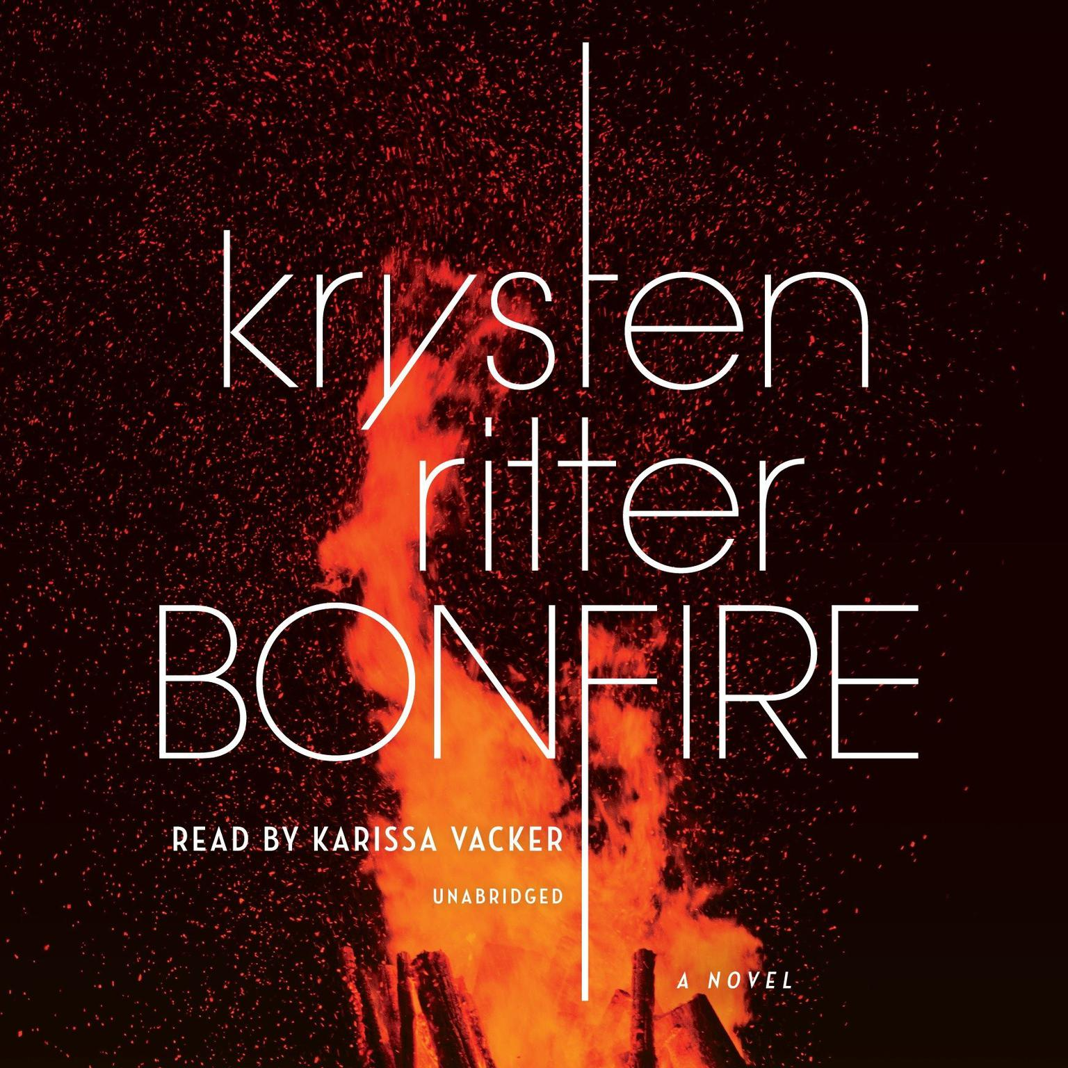Printable Bonfire: A Novel Audiobook Cover Art