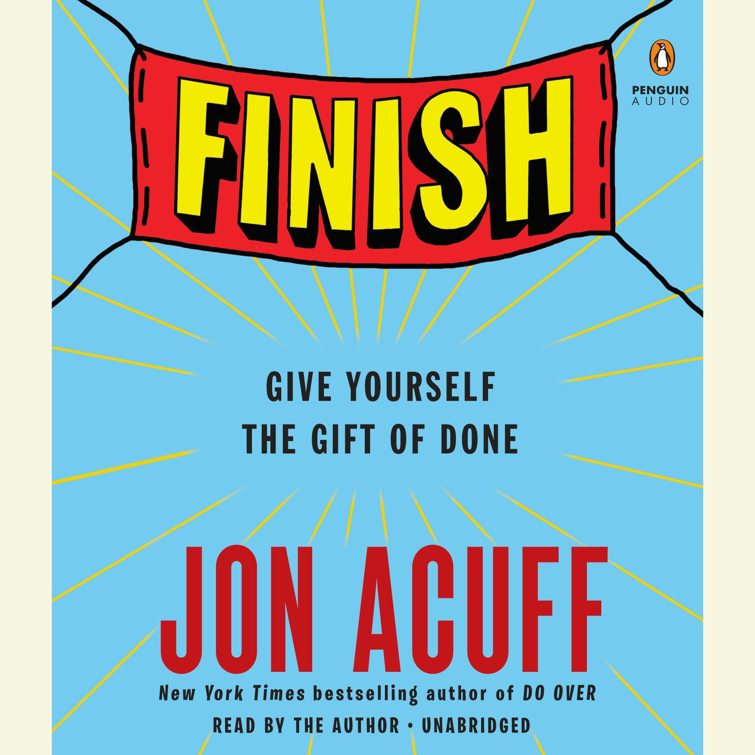 Printable Finish: Give Yourself the Gift of Done Audiobook Cover Art