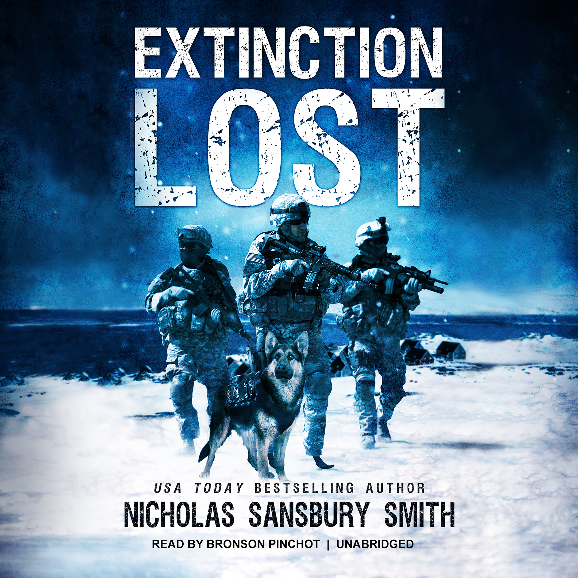 Printable Extinction Lost: A Team Ghost Short Story Audiobook Cover Art
