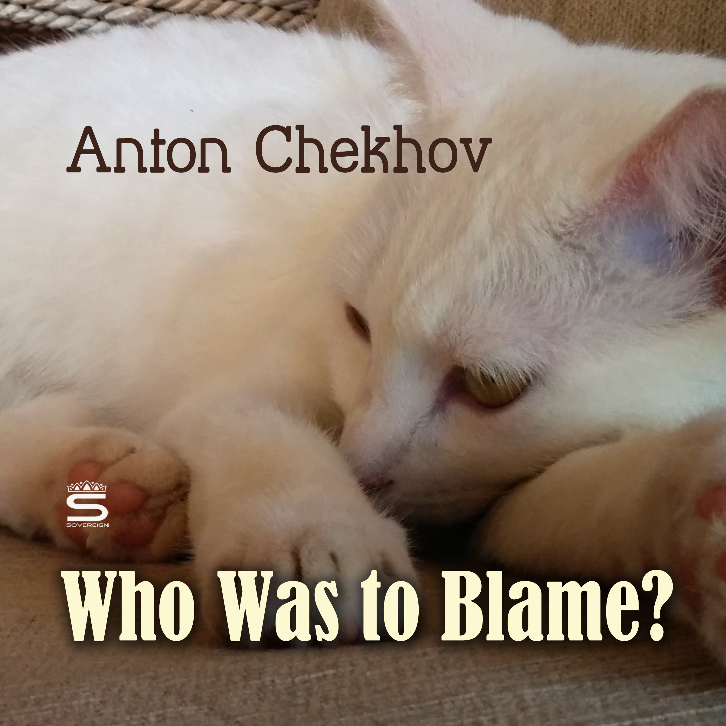 Printable Who Was to Blame? Audiobook Cover Art