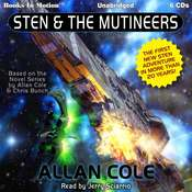 Sten & the Mutineers Audiobook, by Allan Cole