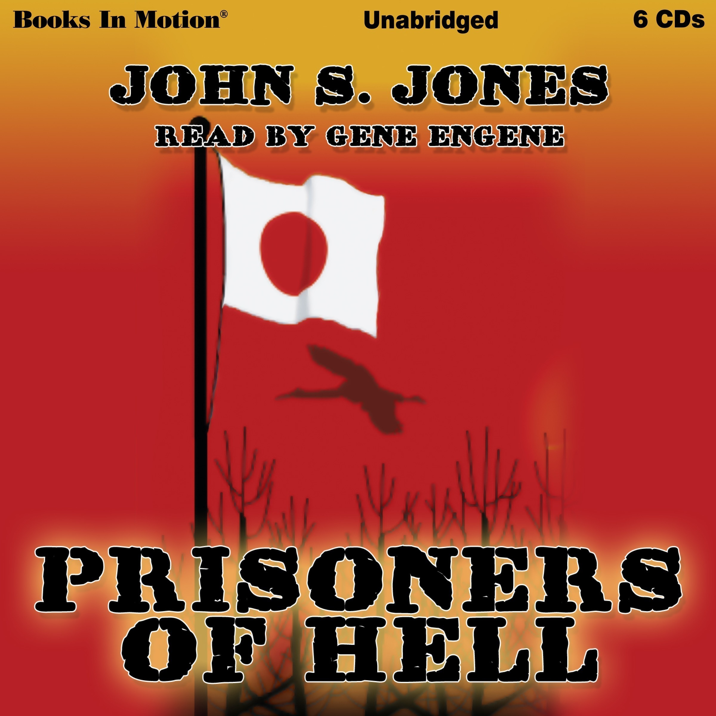 Printable Prisoners Of Hell Audiobook Cover Art