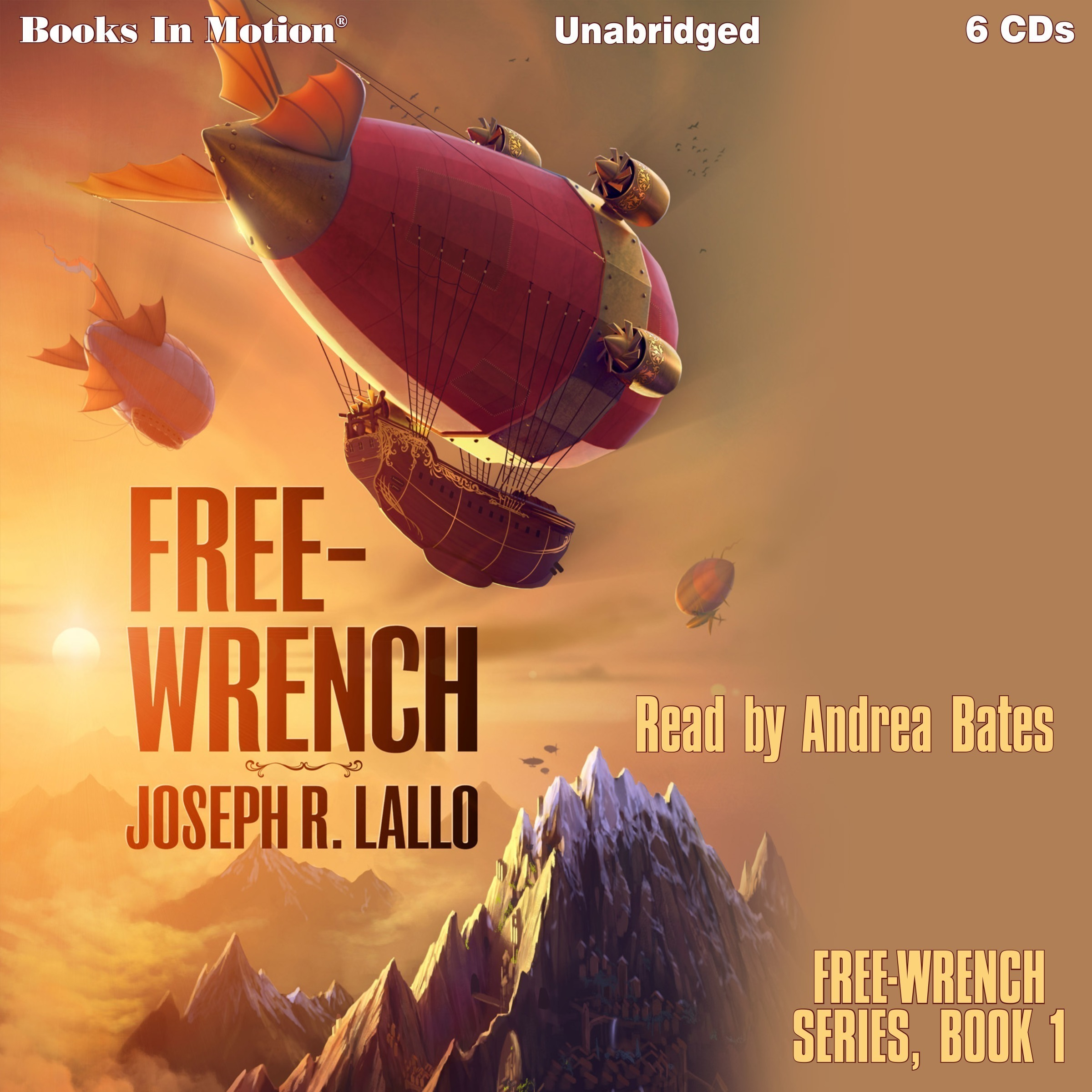 Printable Free-Wrench: Free-Wrench series, book 1 Audiobook Cover Art