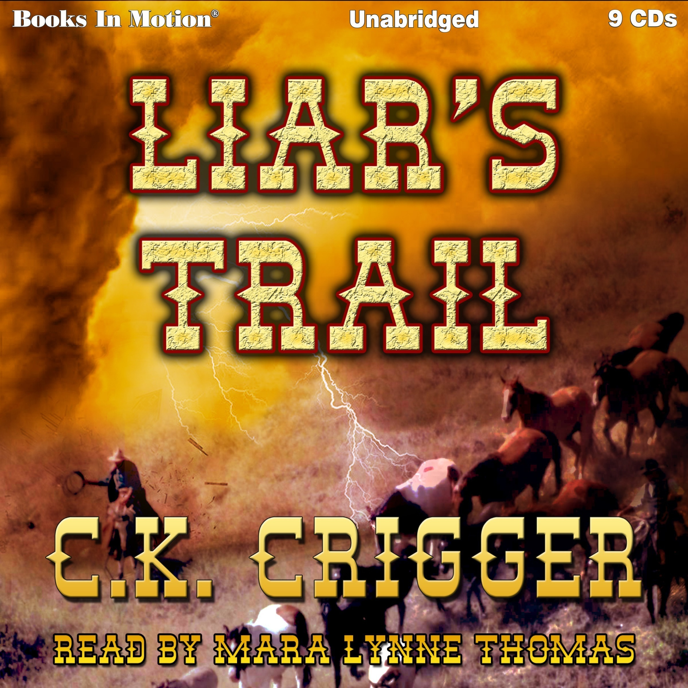 Printable Liar's Trail Audiobook Cover Art