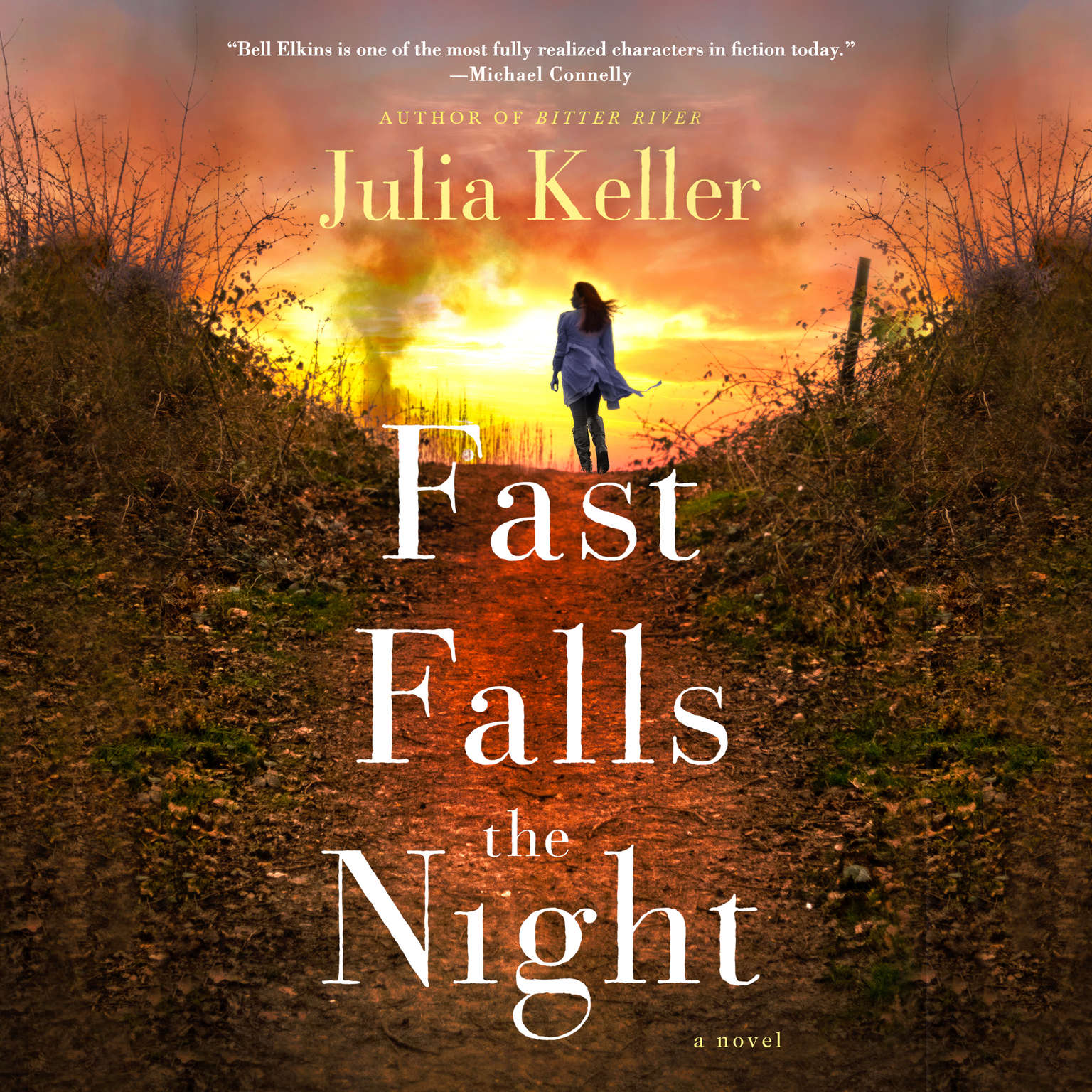 Printable Fast Falls the Night Audiobook Cover Art