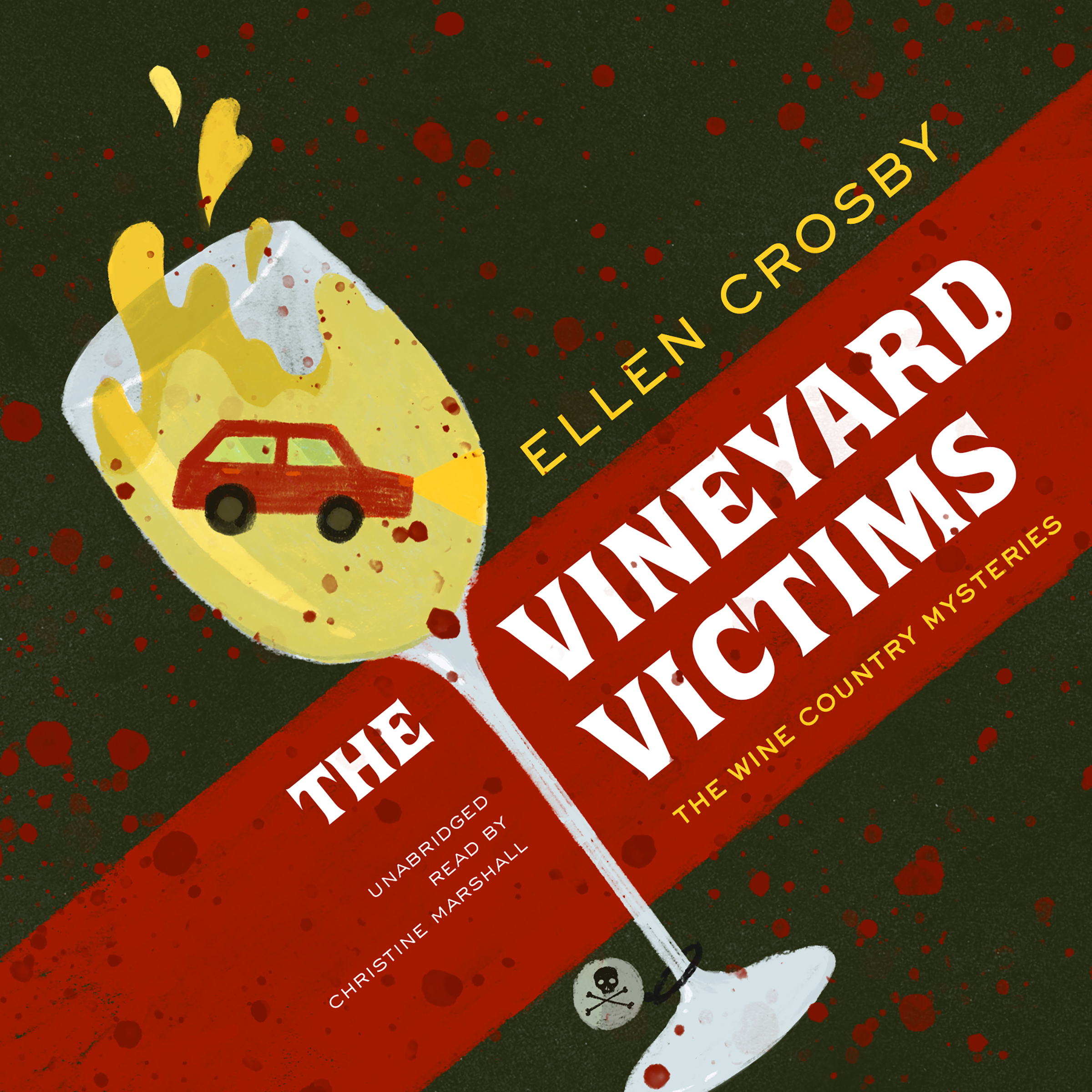 Printable The Vineyard Victims Audiobook Cover Art