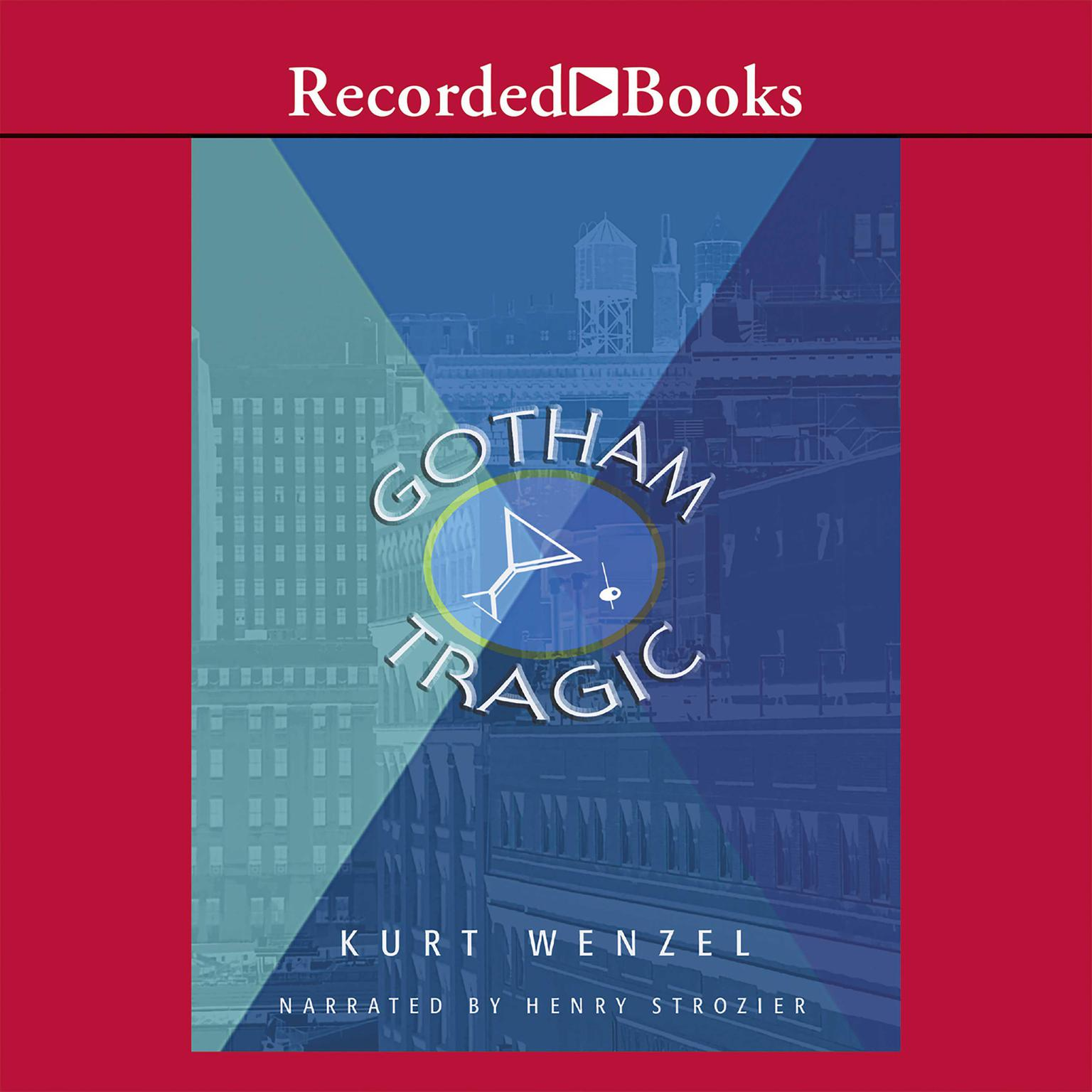 Printable Gotham Tragic Audiobook Cover Art