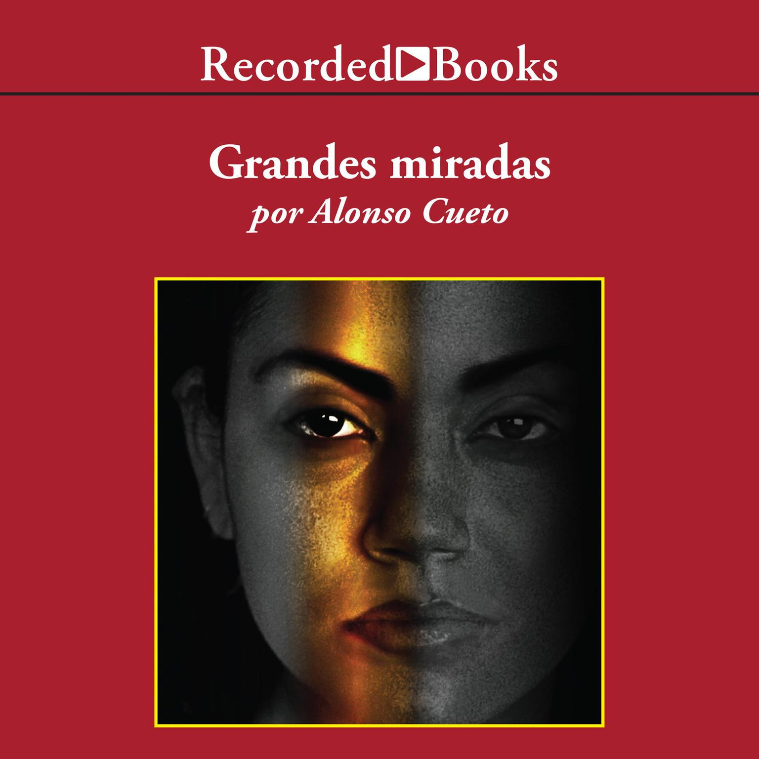 Printable Grandes miradas Audiobook Cover Art