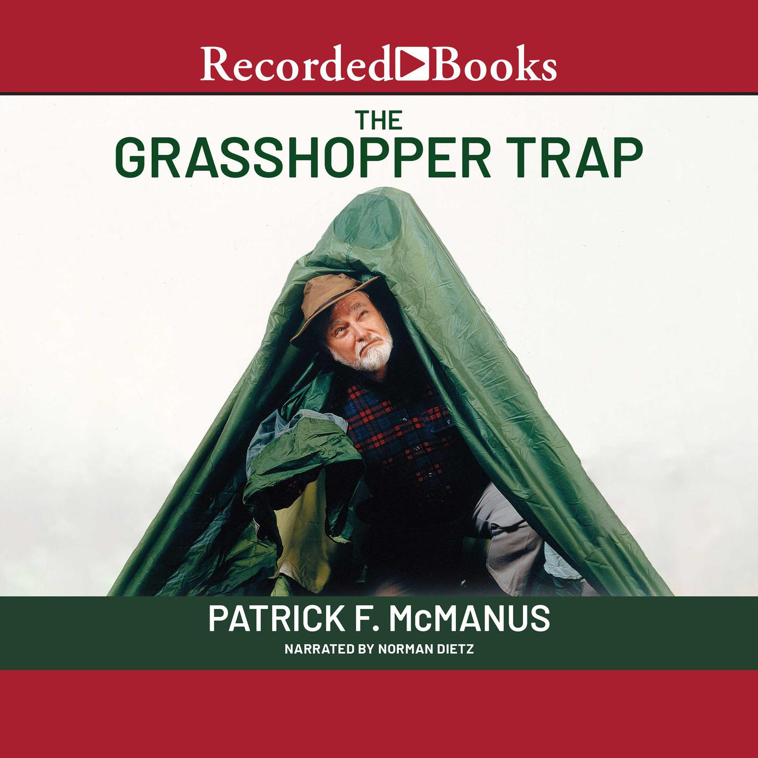 Printable The Grasshopper Trap Audiobook Cover Art