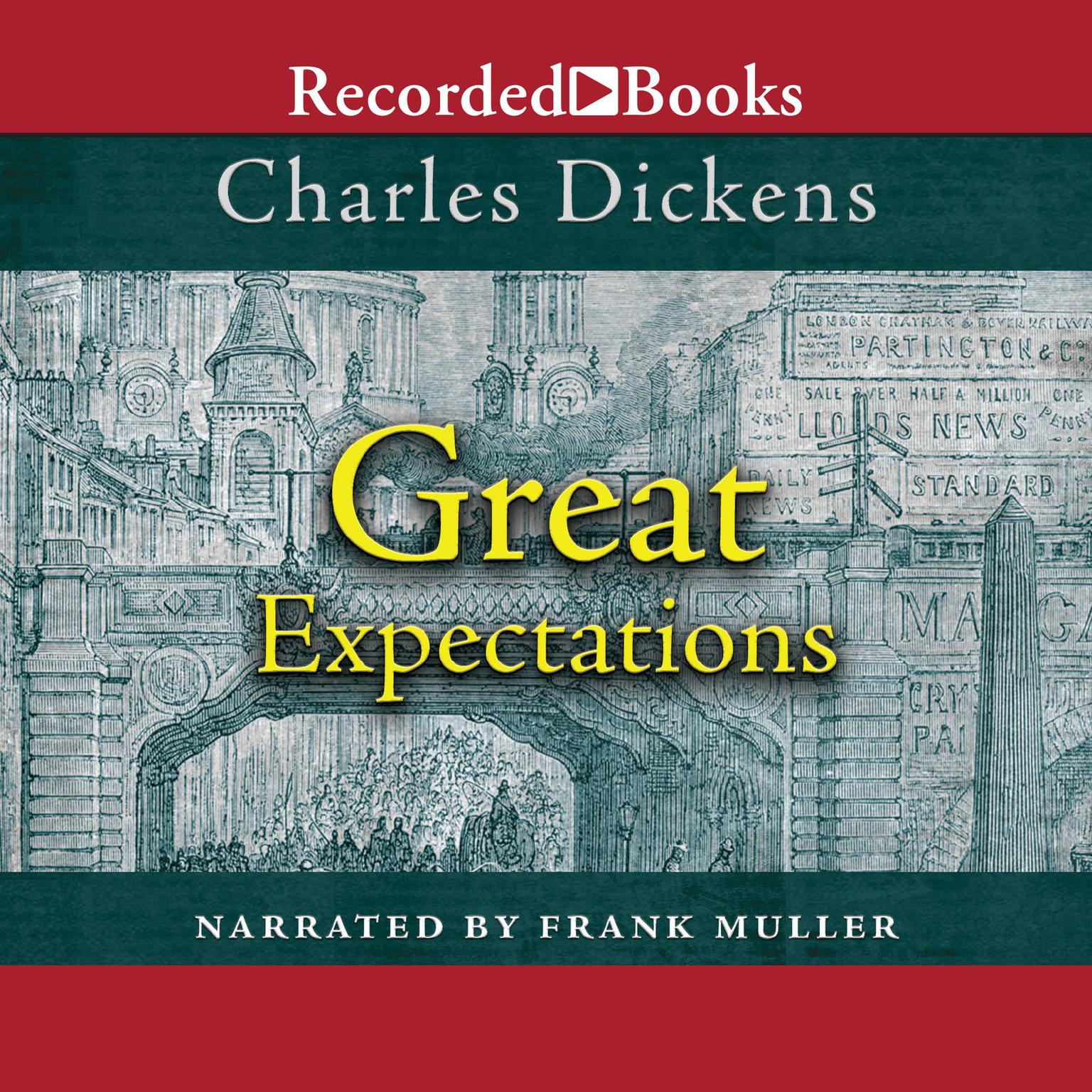 Great Expectations Audiobook, by Charles Dickens