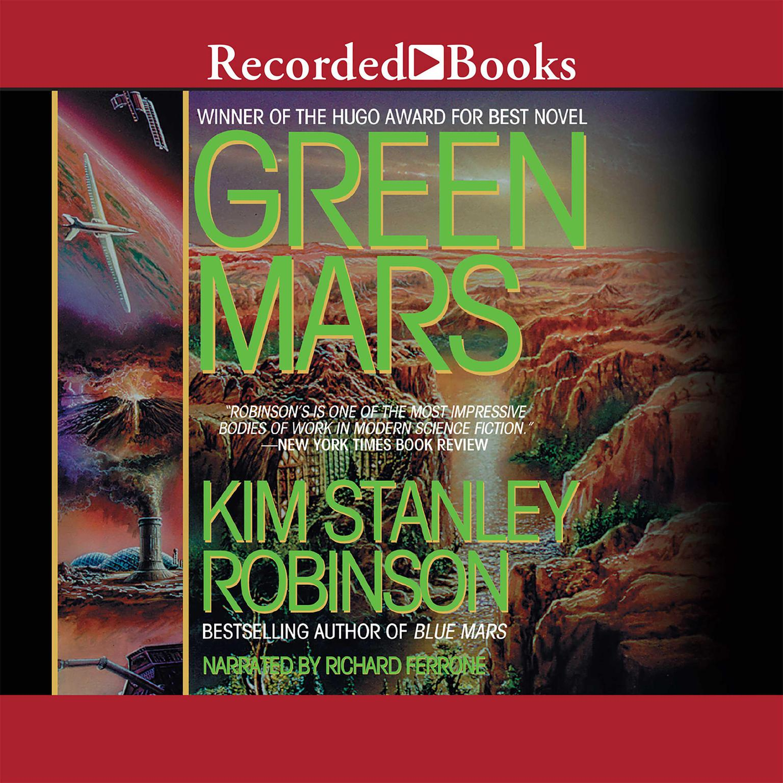 Printable Green Mars Audiobook Cover Art