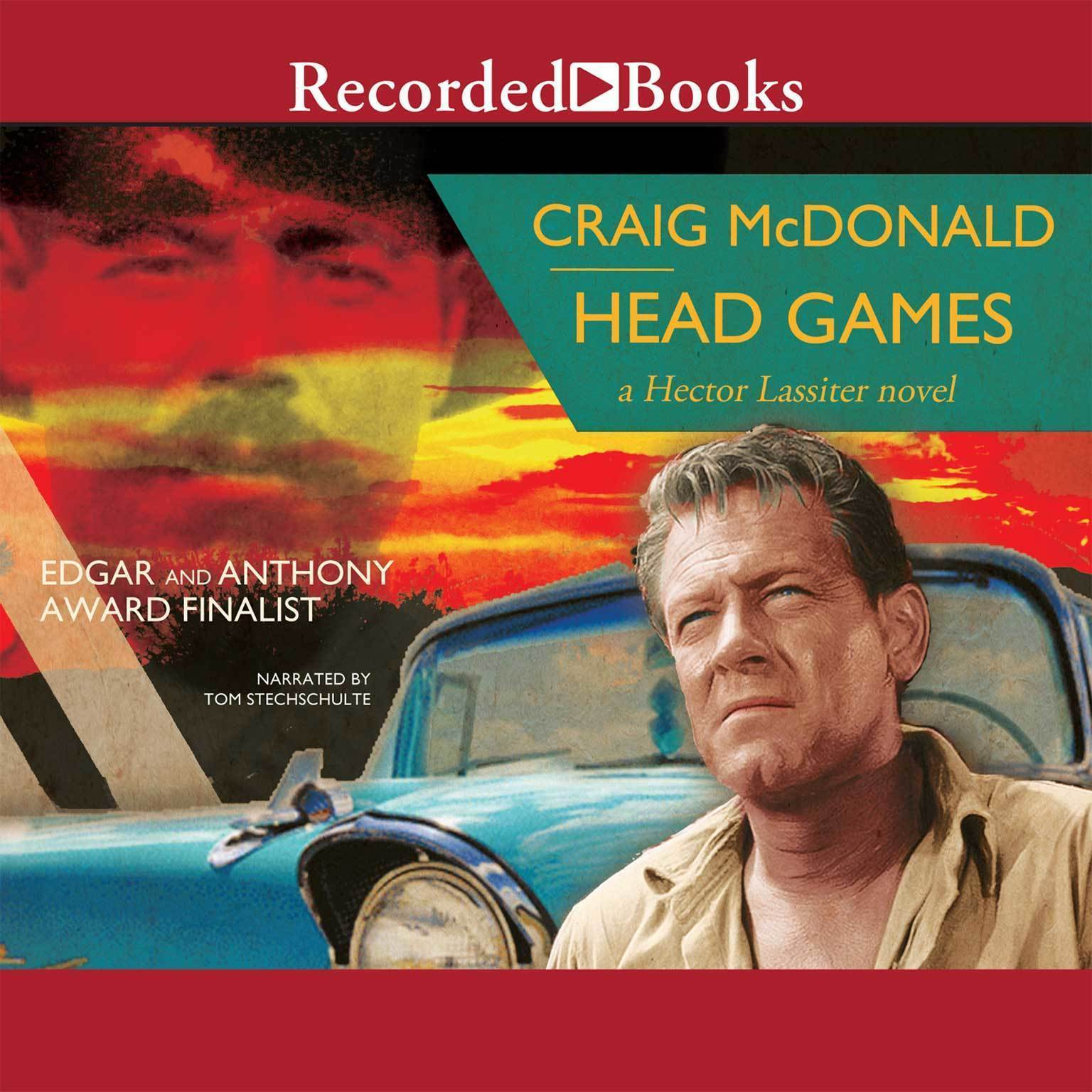 Printable Head Games Audiobook Cover Art