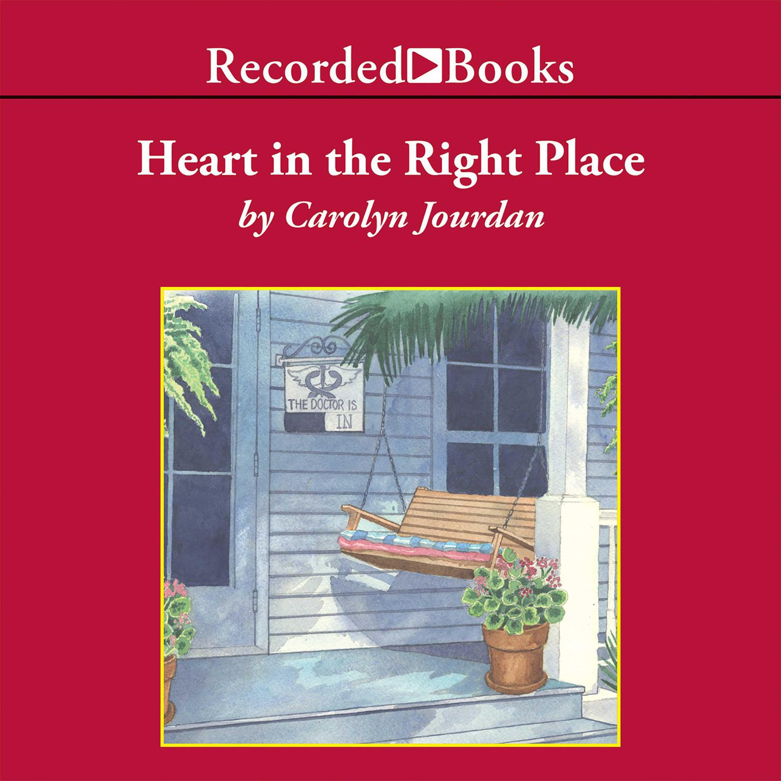 Printable Heart in the Right Place: A Memoir Audiobook Cover Art