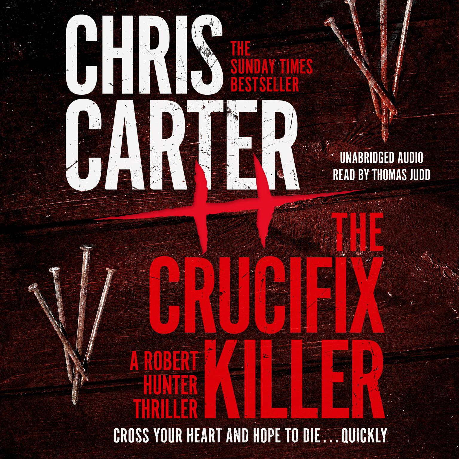Printable The Crucifix Killer Audiobook Cover Art