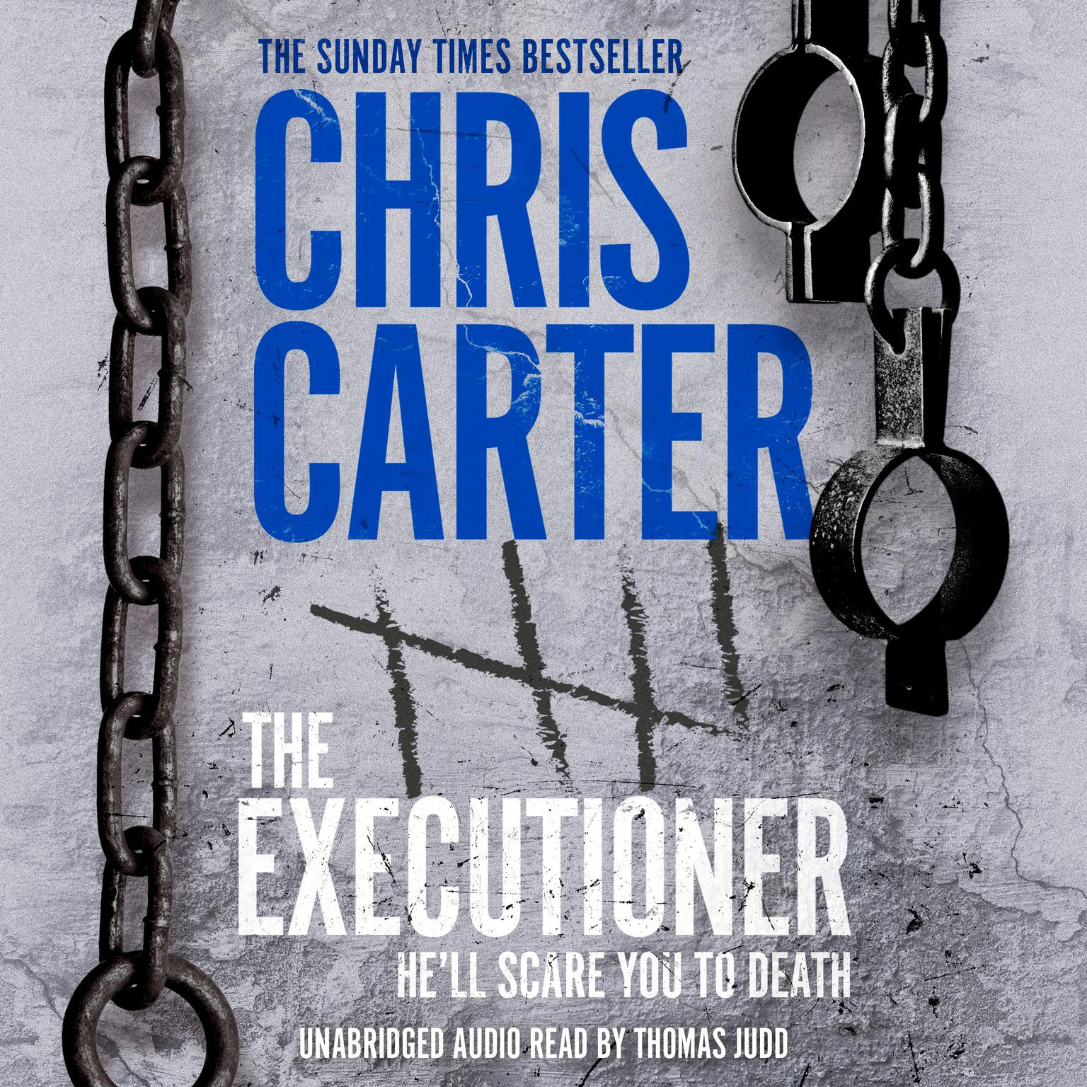Printable The Executioner Audiobook Cover Art