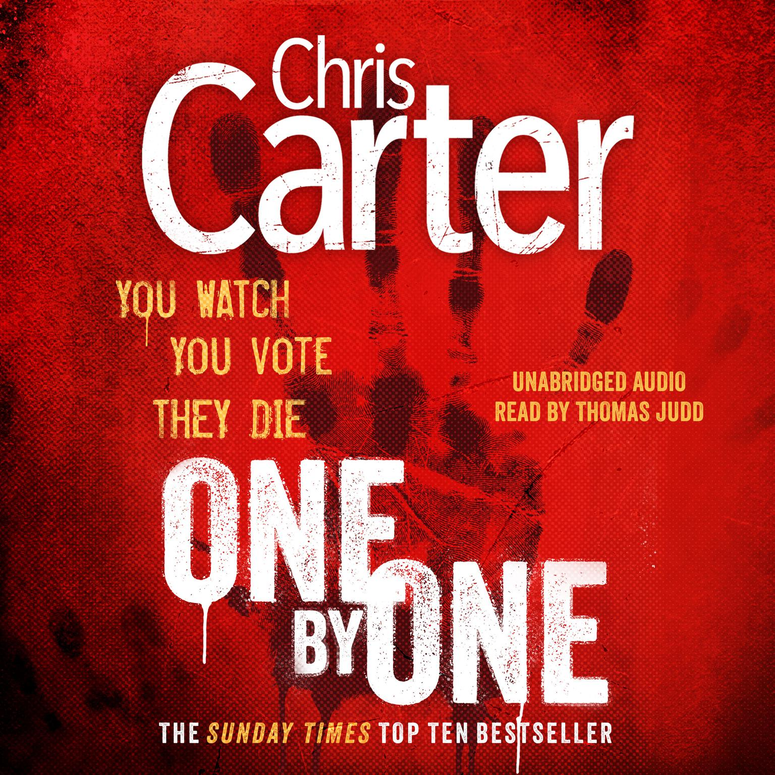Printable One by One Audiobook Cover Art