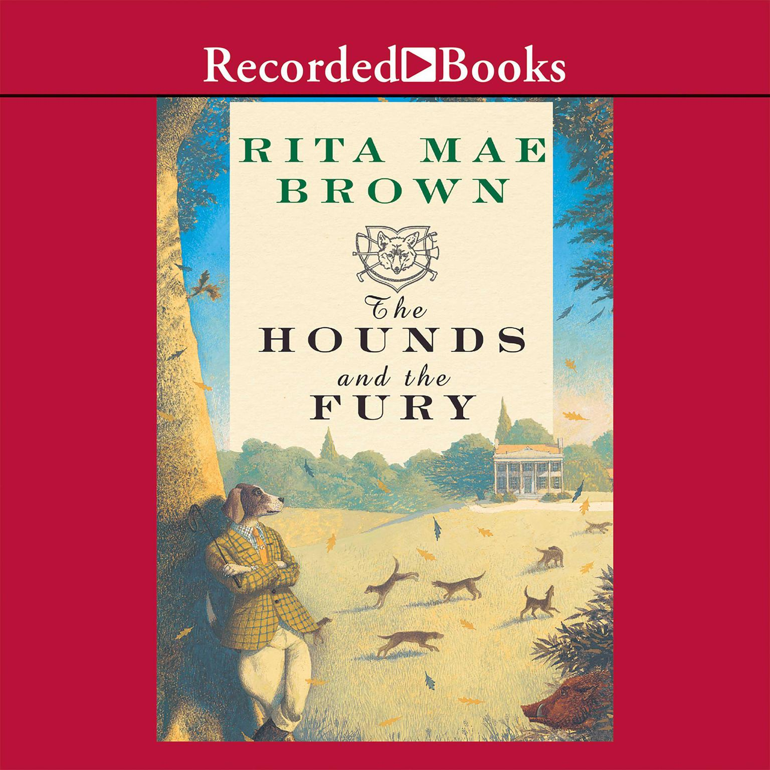 Printable The Hounds and the Fury Audiobook Cover Art