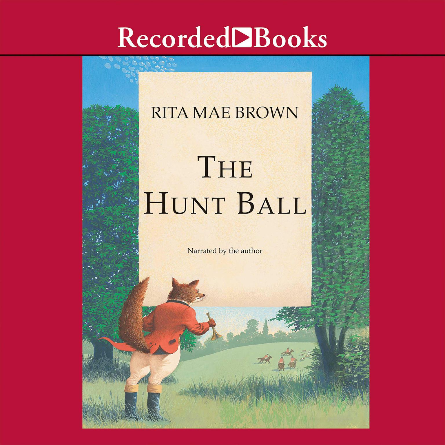 Printable The Hunt Ball Audiobook Cover Art