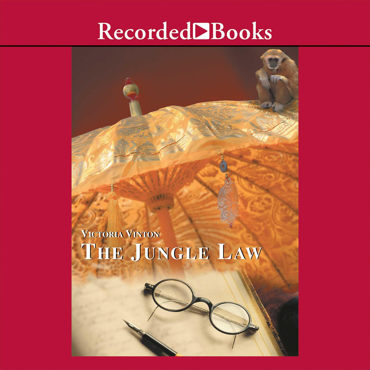 Printable The Jungle Law Audiobook Cover Art
