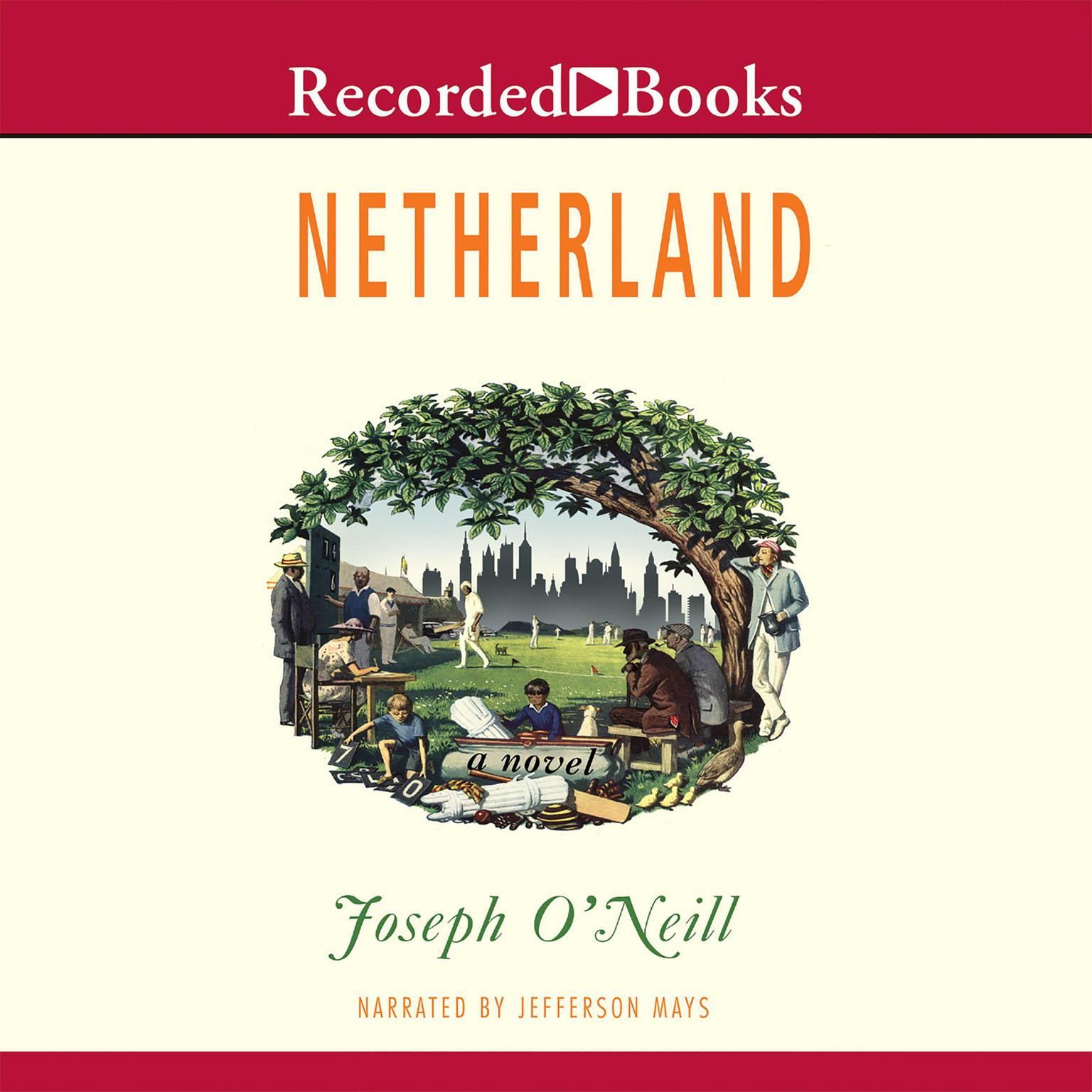 Printable Netherland Audiobook Cover Art
