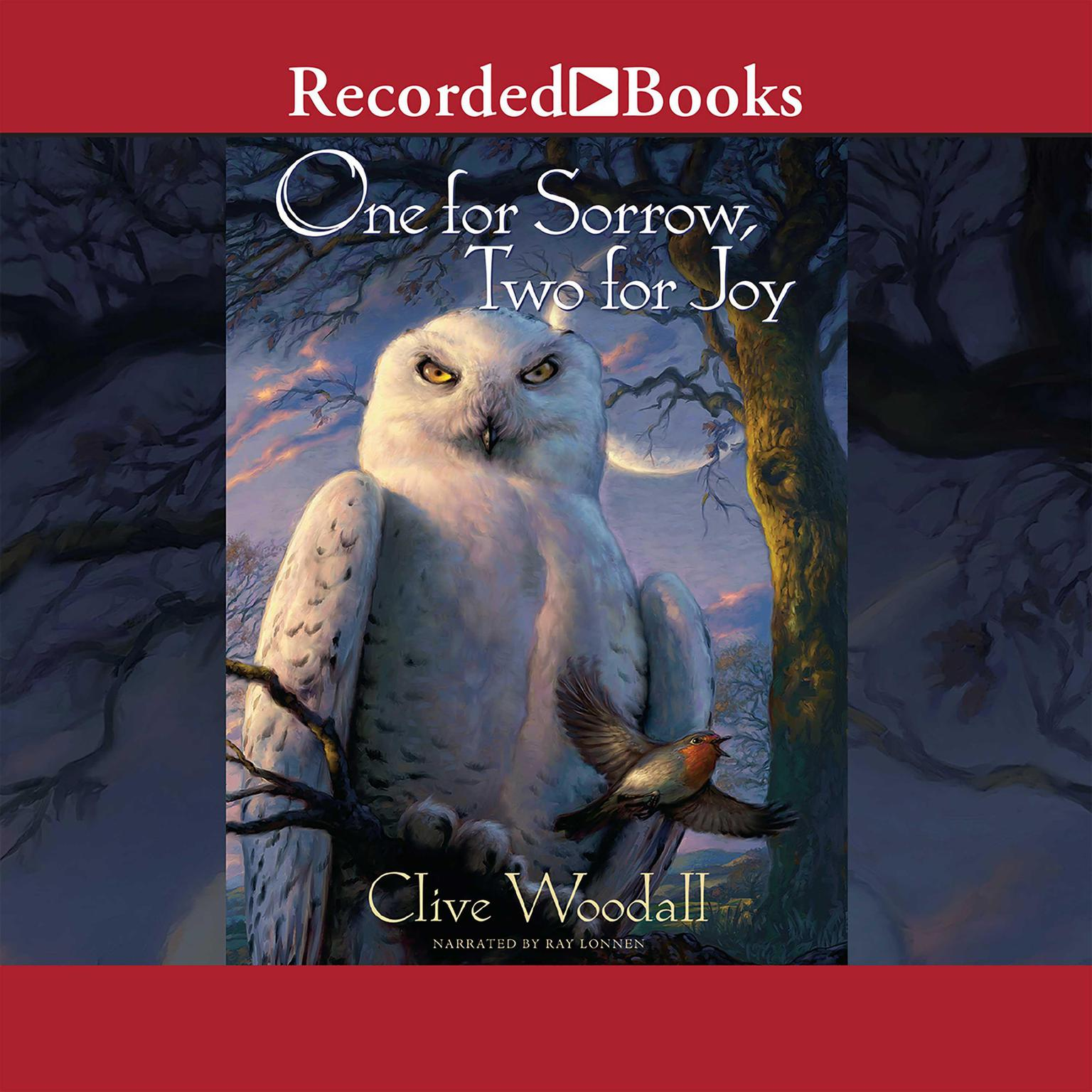 Printable One for Sorrow, Two for Joy Audiobook Cover Art