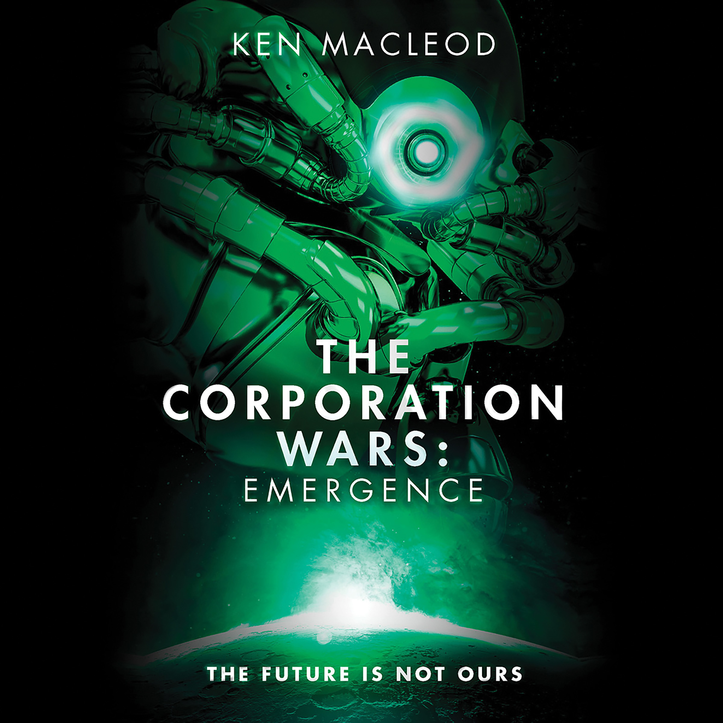 Printable The Corporation Wars: Emergence Audiobook Cover Art
