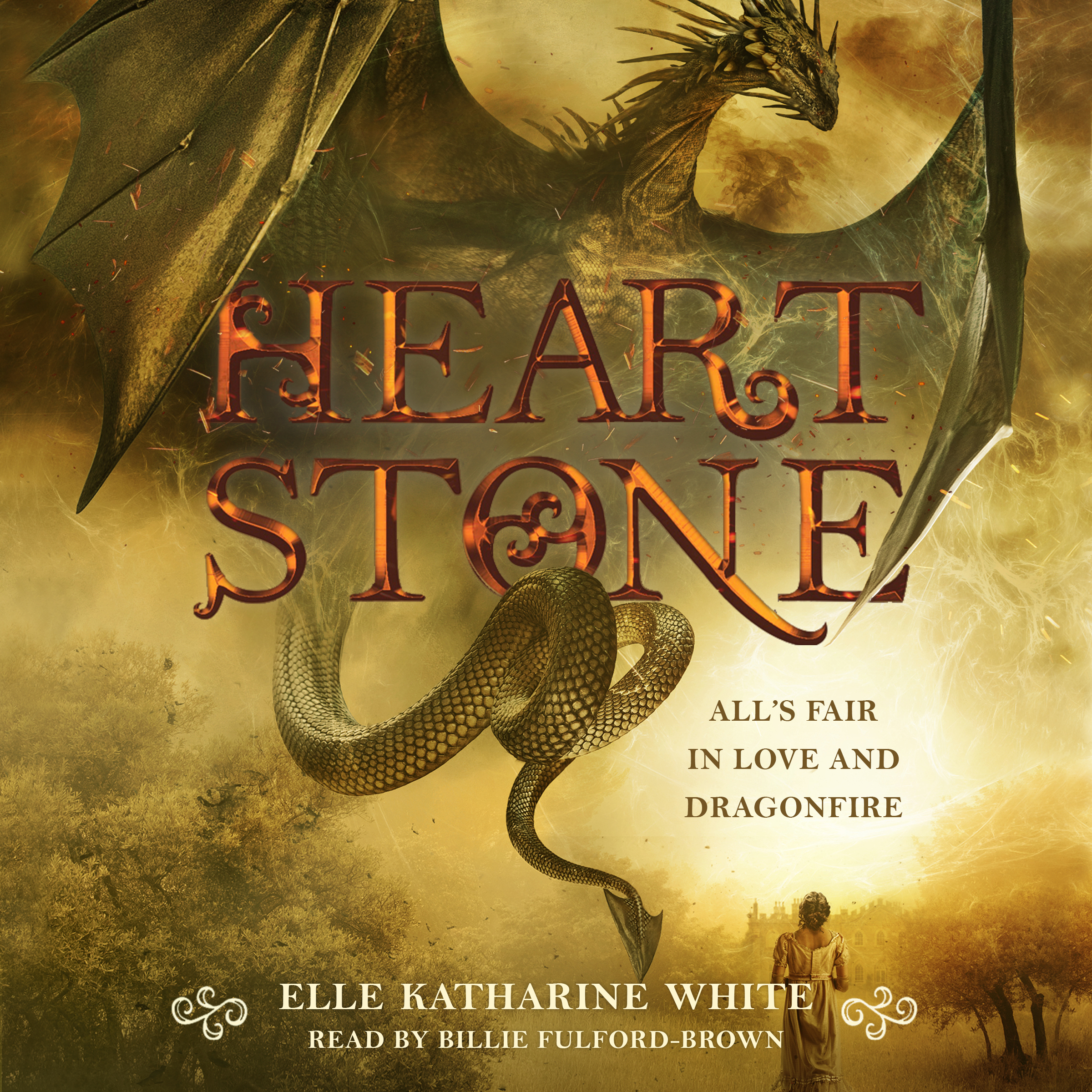 Printable Heartstone Audiobook Cover Art