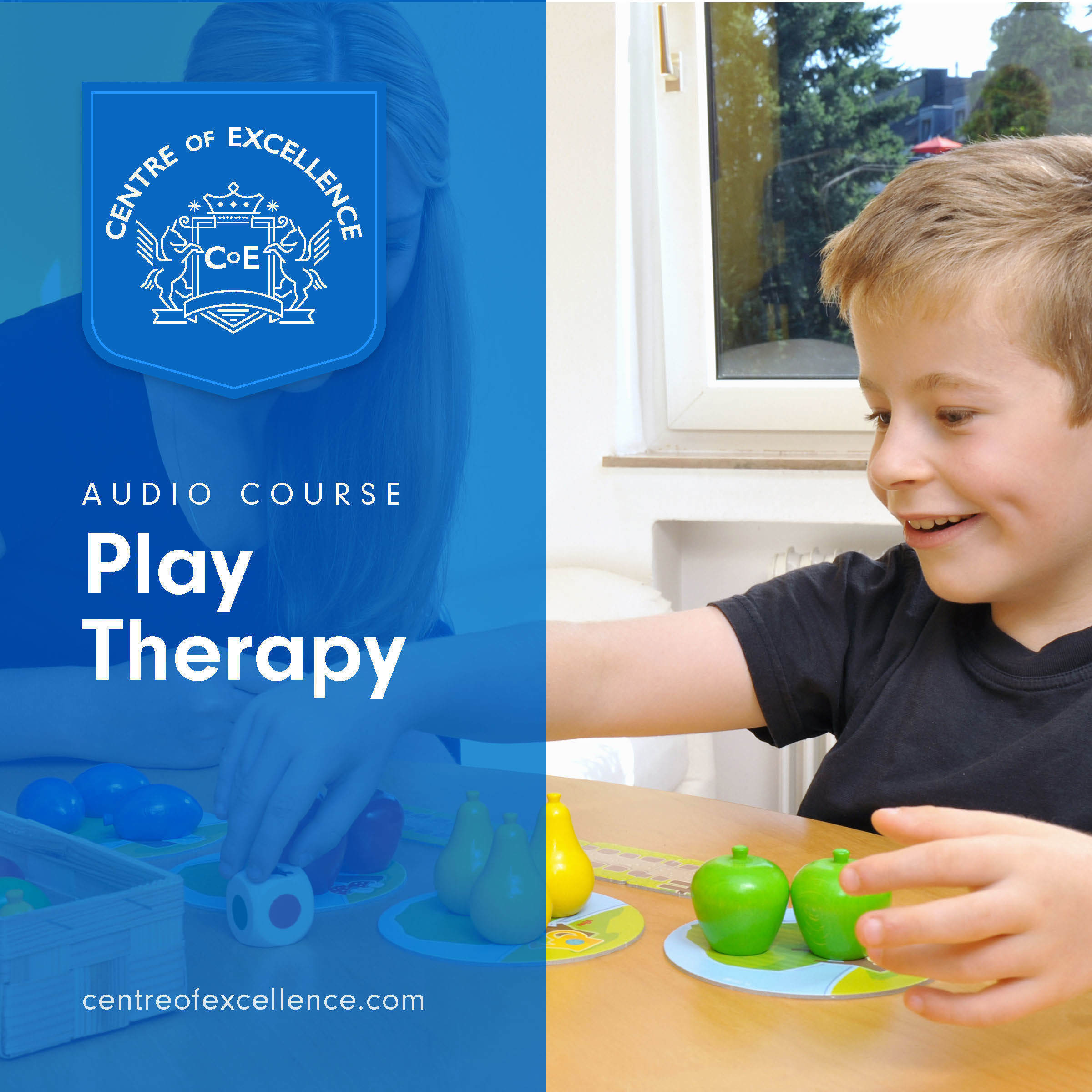 Printable Play Therapy Audiobook Cover Art