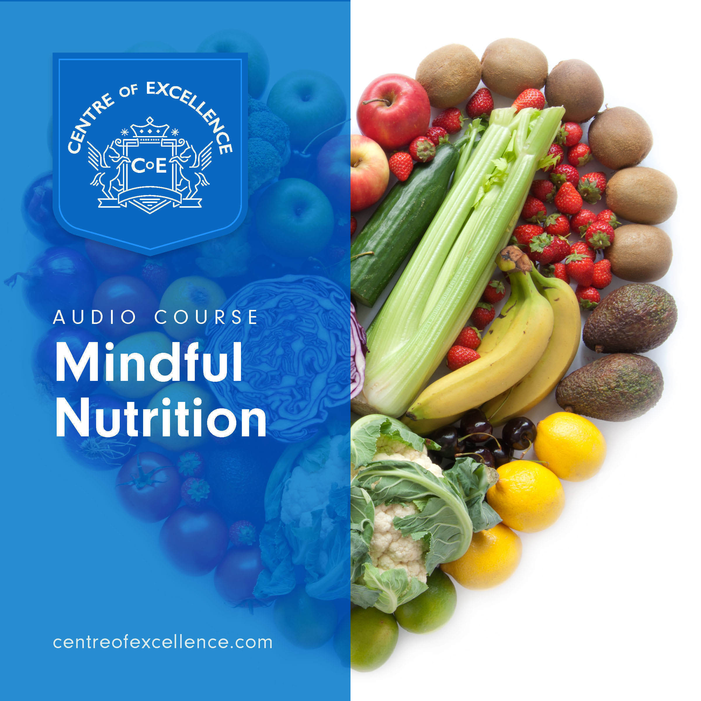 Printable Mindful Nutrition Audiobook Cover Art