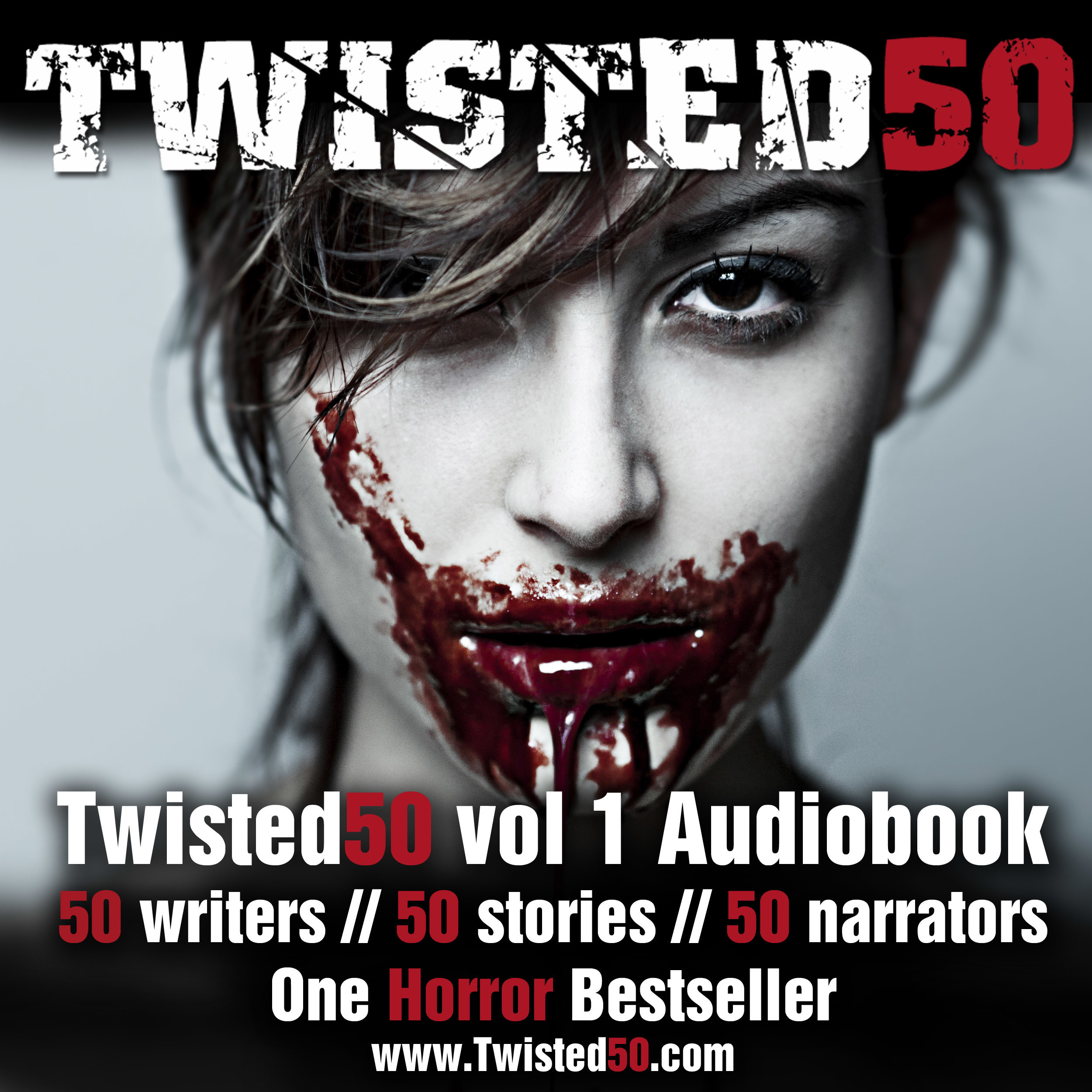 Printable Twisted50 Volume 1 Audiobook Cover Art