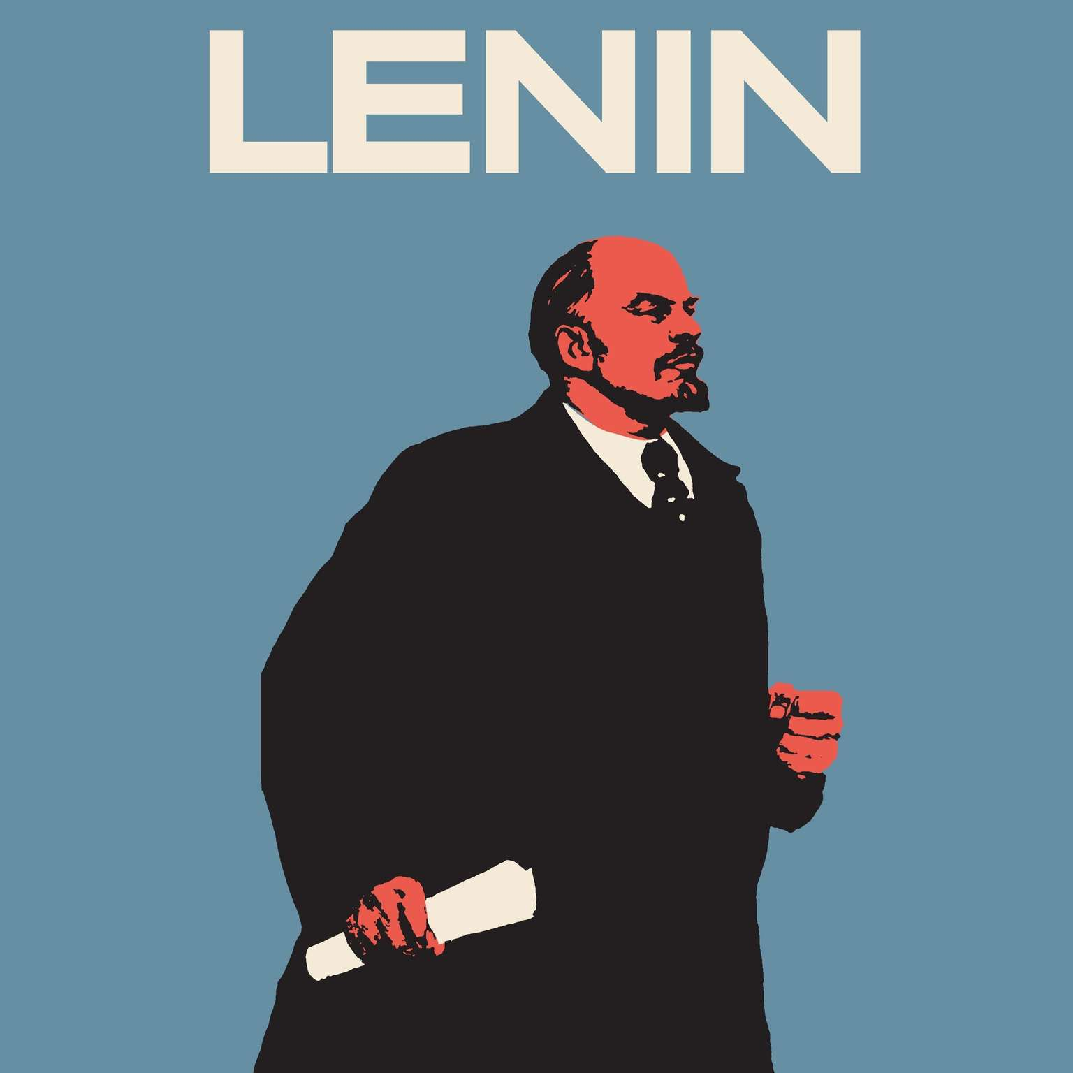 Printable Lenin: The Man, the Dictator, and the Master of Terror Audiobook Cover Art