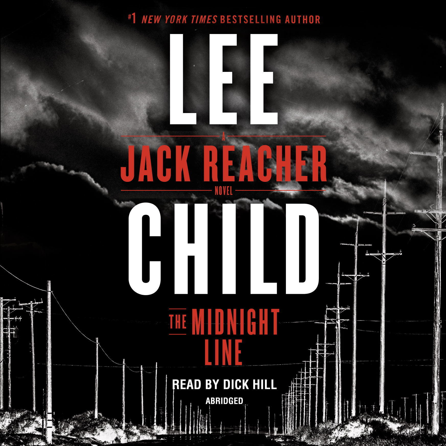 Printable The Midnight Line: A Jack Reacher Novel Audiobook Cover Art